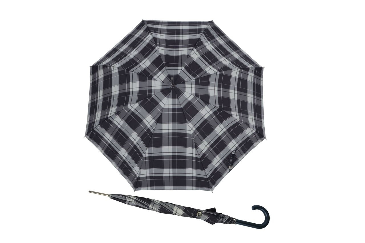 639e90738e1a Doppler Carbonsteel Long Woven Check (DOP714762). Opis. Długi parasol ...